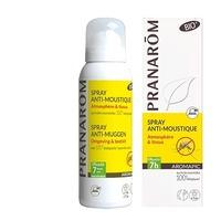 Pranarom- Spray Anti-Moustiques Atmosphère et Tissus Bio