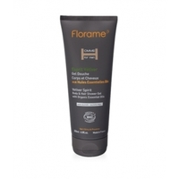 Florame- Gel Douche Corps et Cheveux Vetiver Bio