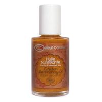 Couleur Caramel- Huile Scintillante Bio