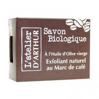 L'Atelier d'Arthur Savon Olive Exfoliant Naturel Au Marc de Café Bio