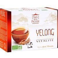 Thé Yelong Vitalité Bio 30 infusions