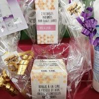 Instant détente avec les Bougies Parfumées Cœur d'abeille Bio
