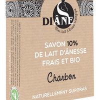 Beliflor (Diane) Savon au Lait d'ânesse Charbon