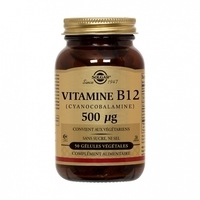 SOLGAR- Vitamine B12 gélules bte 50