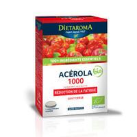Dietaroma- Acérola 1000 Bio Bte 24 cps