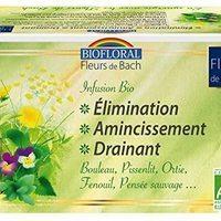 Biofloral- Tisane Élimination Amincissement aux Fleurs de Bach Bio