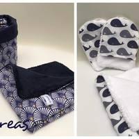 Serviette Visage coton Oeko-Tex et tissu bambou