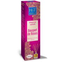 Herbes et Traditions Diffuseur Baguettes capillarité Bouquet de Rose Bio