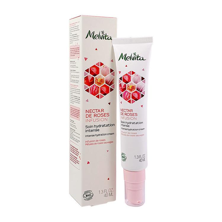 Soin de jour Nectar de Rose hydratant Bio