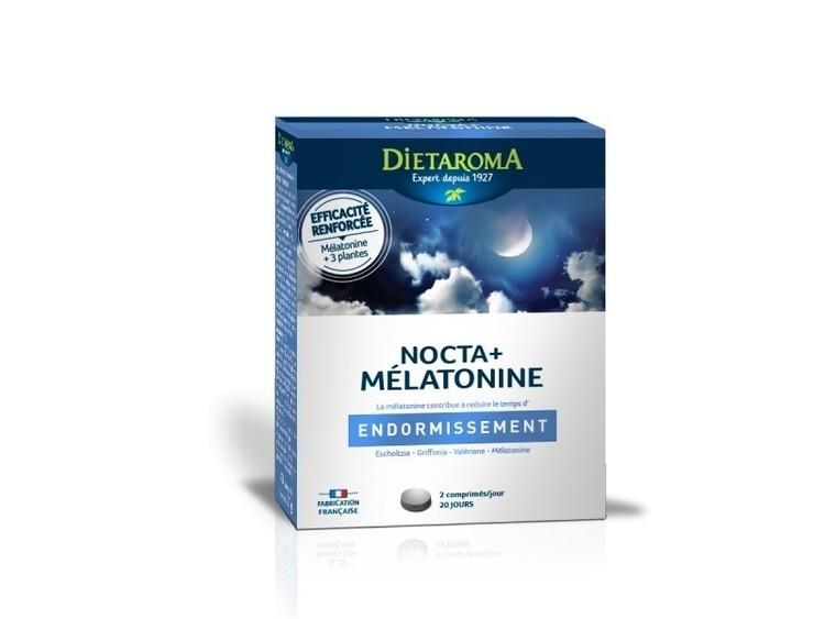 Nocta+Mélatonine comprimés Dietaroma