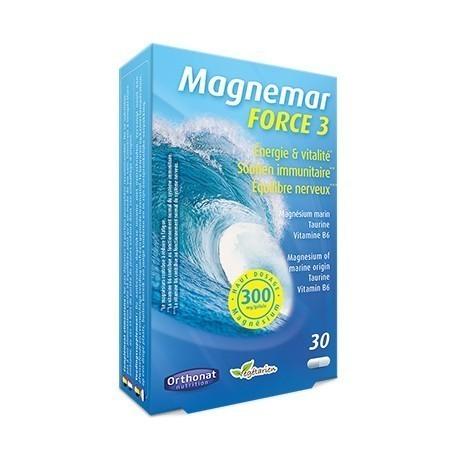 Magnemar Force 3 gélules bte 30 Orthonat