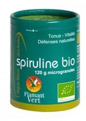 Spiruline Flamant Vert microgranules 120g