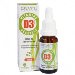Vitamine D3 1000UI gouttes D Plantes Végétale