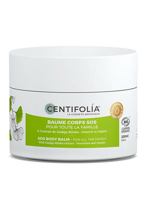 Baume corps SOS pour toute la famille Centifolia Bio