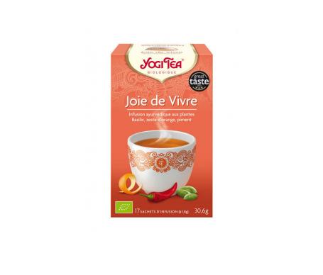 Yogi Tea joie de vivre bte 17 infusions Bio