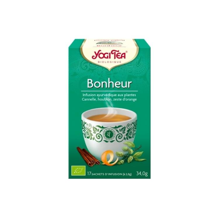 Yogi Tea Bonheur bte 17 infusions Bio