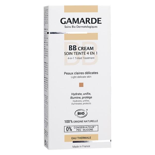 BB cream soin teinté peau claire 4 en 1 Bio Gamarde