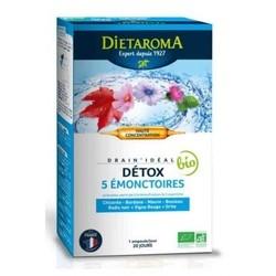 Drain'Idéal Dietaroma Bio ampoules bte 20