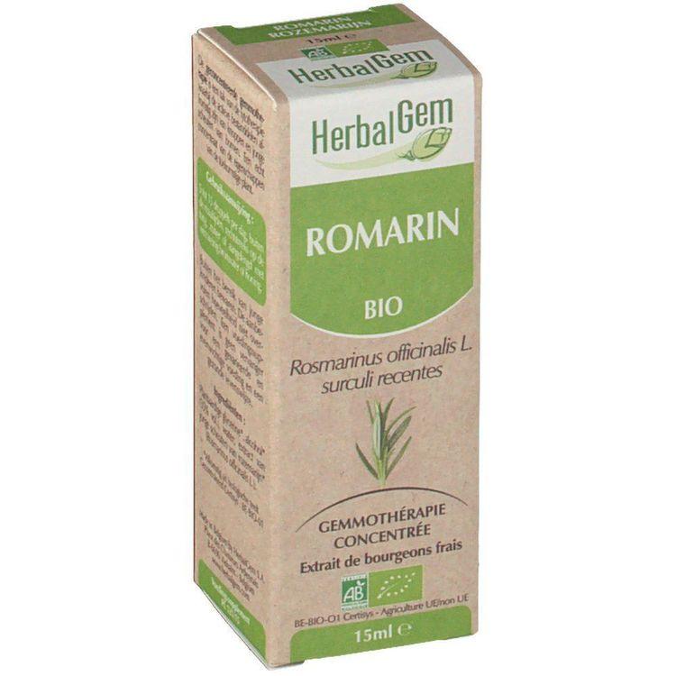 Herbalgem Romarin Bourgeons Bio 15ml