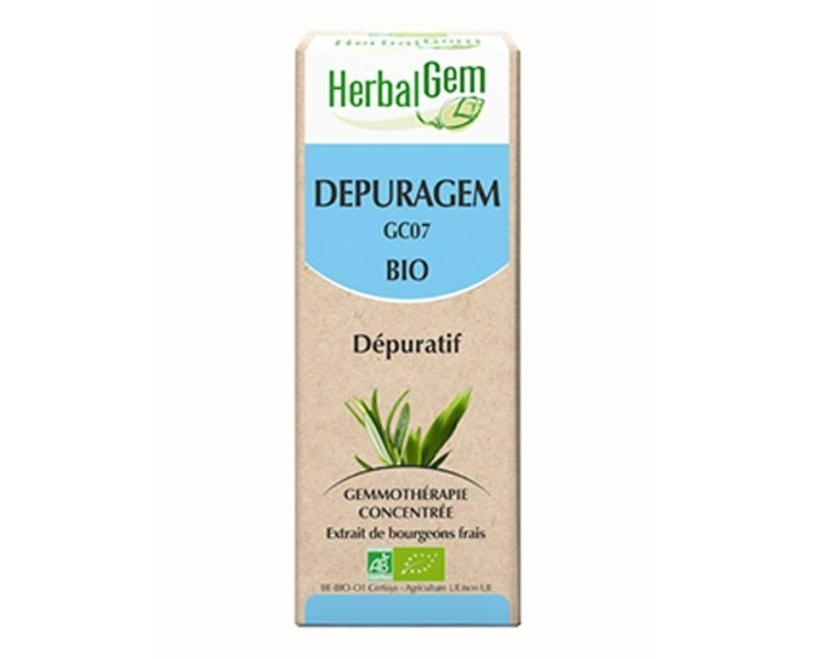 Herbalgem Depuragem Bourgeons Bio