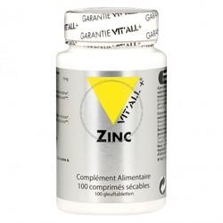 Zinc bisglycinate Vit'All+ bte 100 gélules