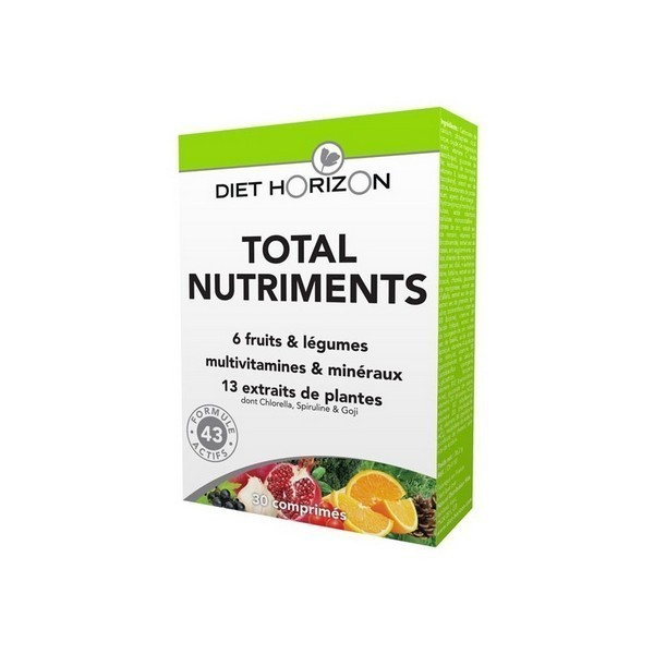 Total nutriments cps bte 30 Diet Horizon