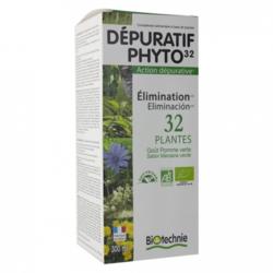 Dépuratif phyto 32 plantes Biotechnie 300 ml