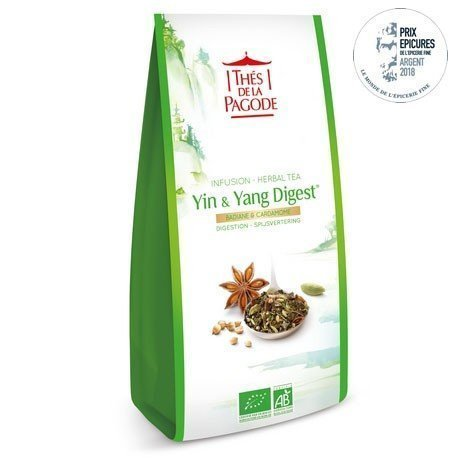 Tisane digestion Yin et yang Thés de la Pagode 70 g Bio