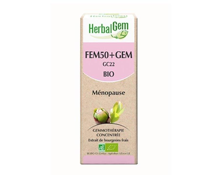 Herbalgem Fem50+Gem Bourgeons Bio spray  10 ml