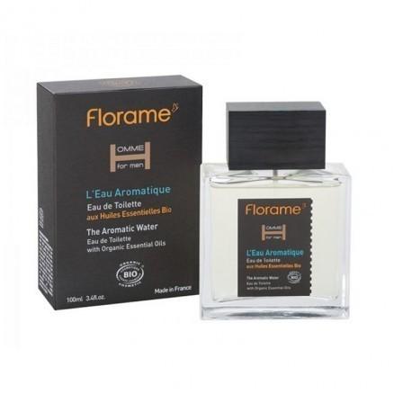 Eau de toilette l'eau aromatique homme Bio Florame