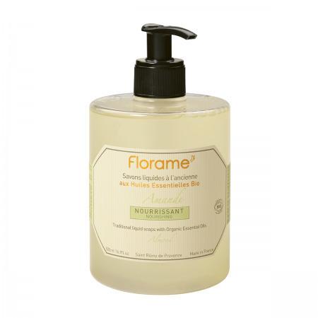 Savon liquide amande Bio Florame 500 ml