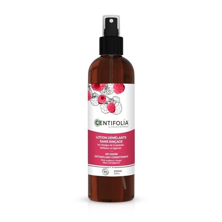 Lotion démêlante sans rinçage Bio Centifolia spray 200 ml