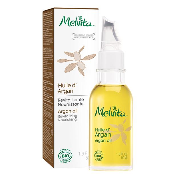 Huile végétale d'argan Bio Melvita 50 ml