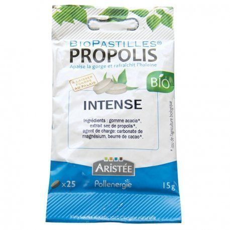 Biopastilles propolis intense Bio Aristée