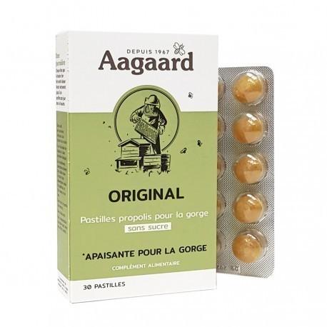 Pastilles propolis original Bio Aagaard boite de 30