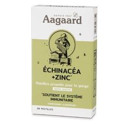 Pastilles echinacea+zinc Bio Aagaard 30 pastilles