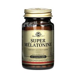 Super mélatonine 1.9mg Solgar 60 cps