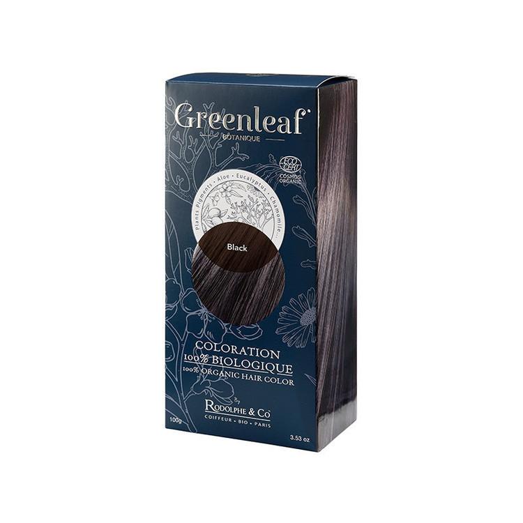 Coloration Greenleaf Black (Noir) 100% Bio
