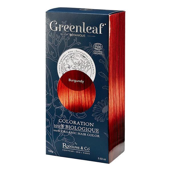 Coloration Greenleaf Burgundy 100% Bio