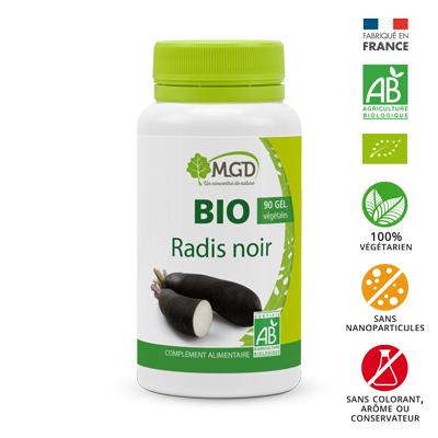 Radis noir Bio MGD 90 gélules