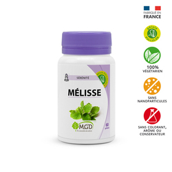 Melisse MGD 60 gélules