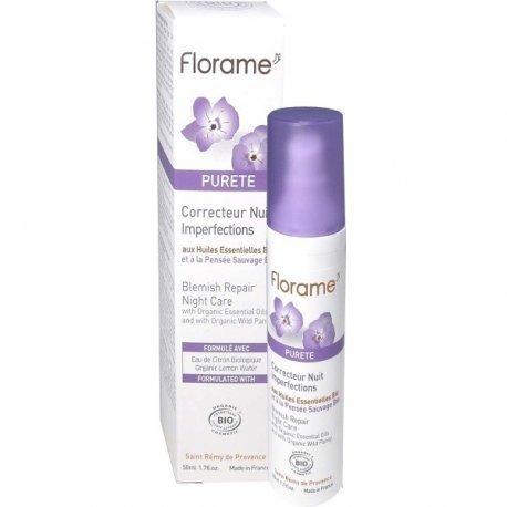 Fluide visage matifiant pureté Bio Florame
