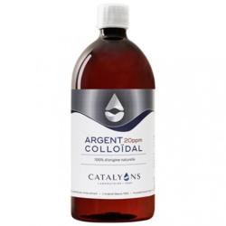 Argent colloïdal 20PPM Catalyons 1L