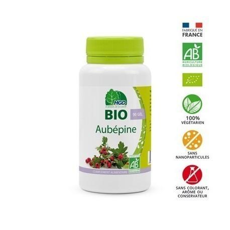 Aubépine Bio MGD 90 gélules
