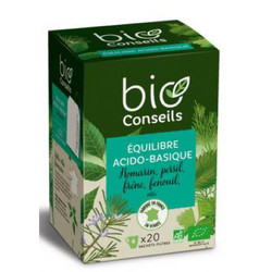 Infusion équilibre acido-basique bio conseils Bio 20 sachets