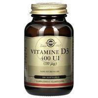SOLGAR- Vitamine D3 400 UI