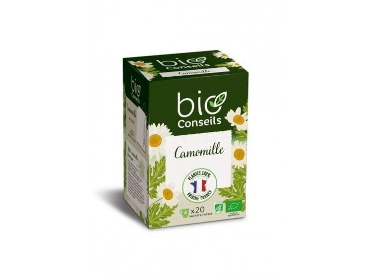 Tisane camomille France bio conseils Bio 20 sachets