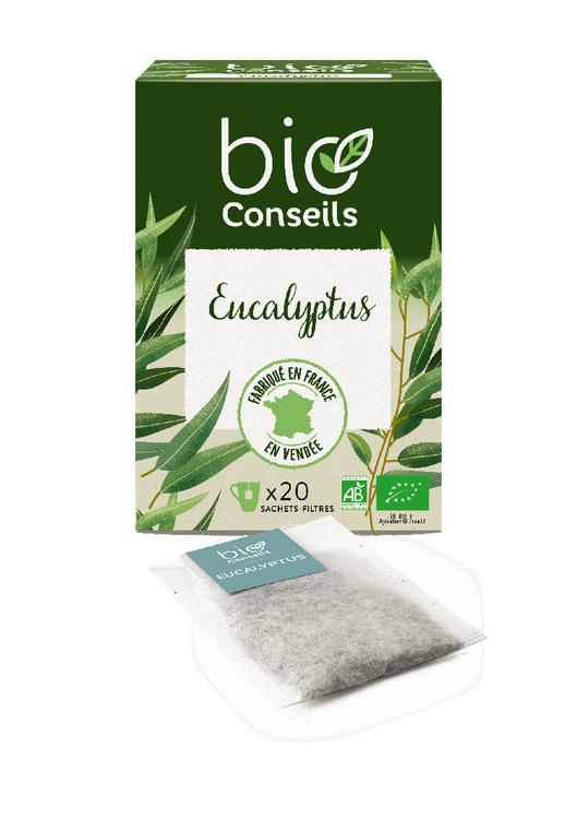Infusion eucalyptus Bio bio conseils 20 sachets