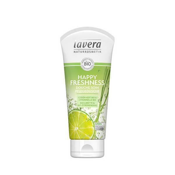 Gel douche rafraîchissant citron Bio Lavera 200 ml