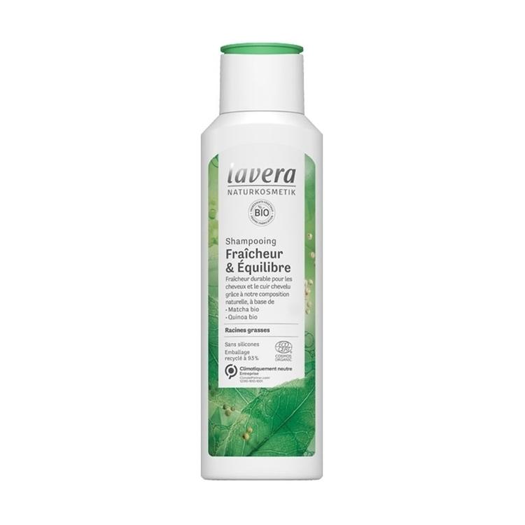 Shampoing fraîcheur et cheveux gras Bio Lavera 250 ml
